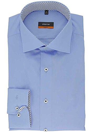 slim fit'chemise pour homme Bleu - Bleu
