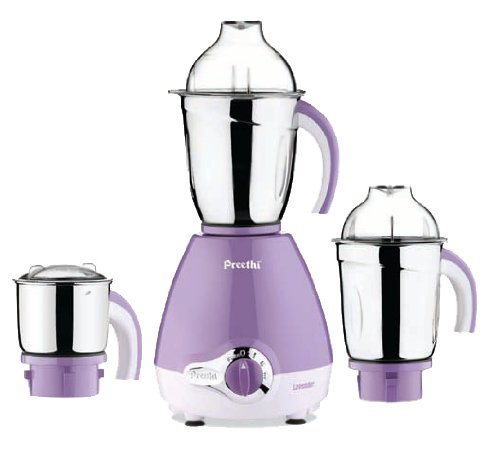 Preethi Lavender 600-Watt Mixer Grinder  available at amazon for Rs.3305