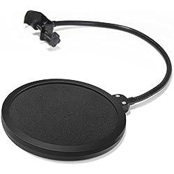 InnoGear Microphone Filtre Pop Avec Double Couche Son Bouclier Guard Vent Popfilter Pour Blue Yeti Et Studio Studio D'Enregistrement