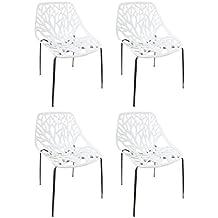 Amazonfr Chaise Blanche