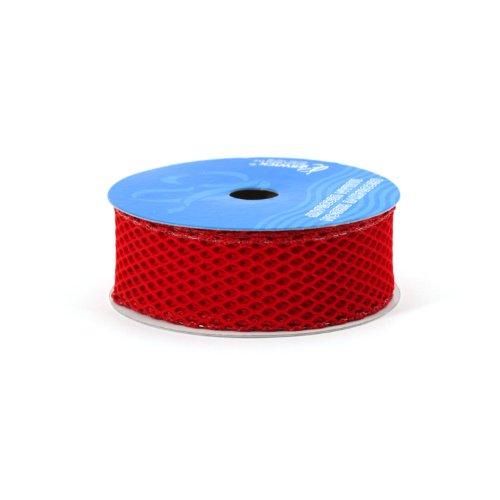 Berwick Fischnetz-Band, 3,8 cm breit, 4,5 m Spule, Scarlet - Fischnetz-band
