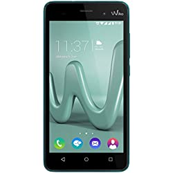Wiko Lenny 3 Smartphone débloqué (Ecran : 5 pouces - 16 Go - Android 6.0 Marshmallow) Turquoise (import Allemagne)