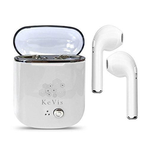 Bluetooth Kopfhörer Drahtlose Ohrhörer Bluetooth Kopfhörer Bluetooth Kopfhörer Mini TWS Ohrhörer Ohrhörer V4.1 Stereo & HD Mic mit Lade Fall Mini Bluetooth Kopfhörer für Bluetooth Devieces (1)