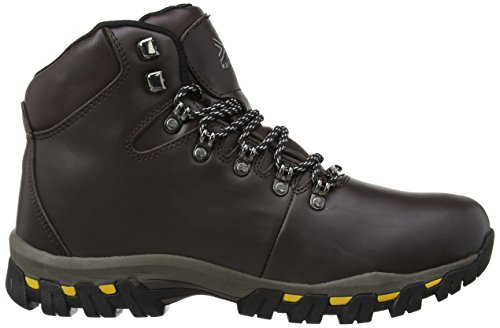 Karrimor Mendip Leather II Weathertite, Chaussures de randonnée/trekking homme Marron (Brn)