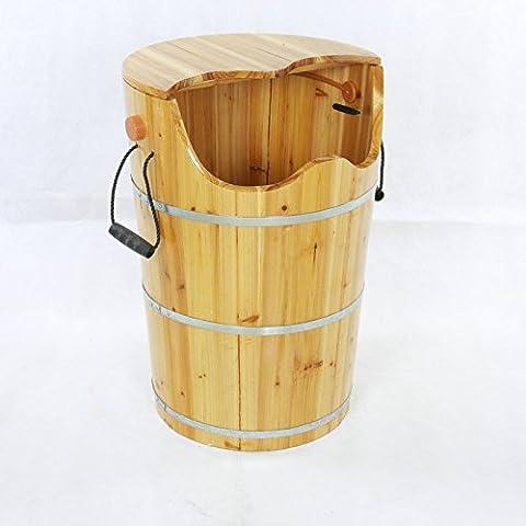HINEW baril en bois de sapin maison bain de pieds