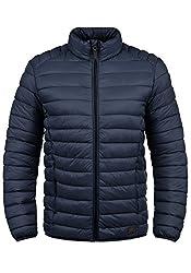 Blend Nils Herren Steppjacke Übergangsjacke Jacke Mit Stehkragen, Größe:L, Farbe:Navy (70230)