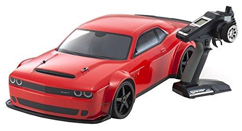 Kyosho - Inferno GT2 VE Race Specs Dodge Challenger SRT Demon - K.34103B (Challenger Ersatzteile Und Zubehör)