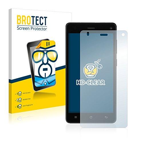 BROTECT Schutzfolie kompatibel mit Medion Life E5001 (MD 99206) [2er Pack] klare Bildschirmschutz-Folie