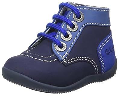 Kickers Bonbon, Bottillons Mixte Bébé, Bleu (marine Bleu Bleu Petgrm 51), 18 EU