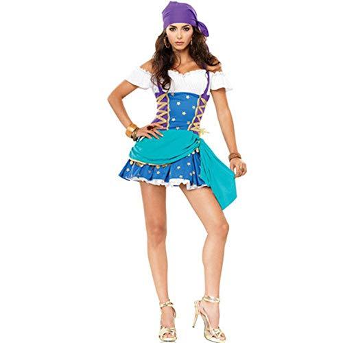 Weiblich Zombie Pirat Kostüm - Halloween Persönlichkeit Uniform Sexy Weiblichen Piraten Kostüm Frau Cosplay Halloween Kostüm, Photo Color, Eine Größe