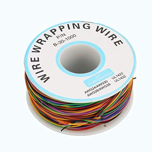 Cavo di saldatura elettronico a filo di rame per conduttore di linea del filo di rame mono filo di rame da 250 m 30awg
