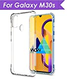 WOW Imagine Samsung Galaxy M30s Shockproof Back Cover Case | Flexible Protective Cushioned