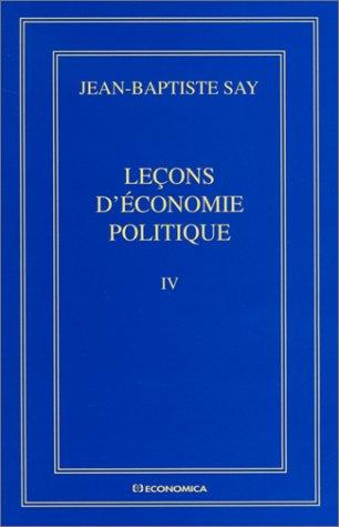 oeuvres-compltes-tome-4-leons-d-39-conomie-politique