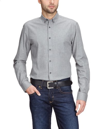 Jack & Jones Premium - Chemise - Homme Gris (Dark Grey)