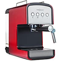 oneConcept Solari macchina per caffè espresso caffettiera multiuso con erogatore