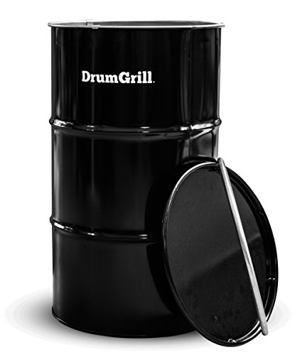 DrumGrill 183-235.021 Medium, Black, 46 x 46 x 82 cm
