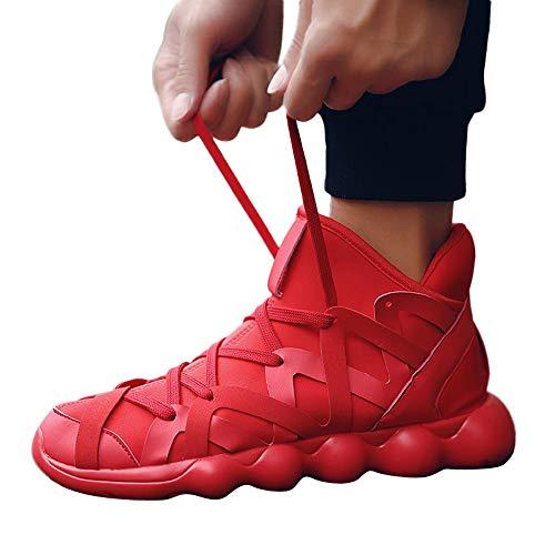 Sneaker Herren Freizeitschuhe Persönlichkeit Joggingchuhe Arbeiten Schuhe Wanderschuhe Männer Fliegen Weave Sportschuhe Atmungsaktiv Turnschuhen ABsoar