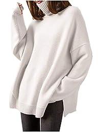 new concept 104f3 2ca57 Maglioni Cachemire Donna: Abbigliamento - Amazon.it