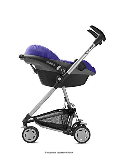 Quinny Zapp, Kinderwagen Buggy Kombiset mit Maxi-Cosi Babyschale erweiterbar, superleicht und kompakt, bis 15 kg, rocking black - 5