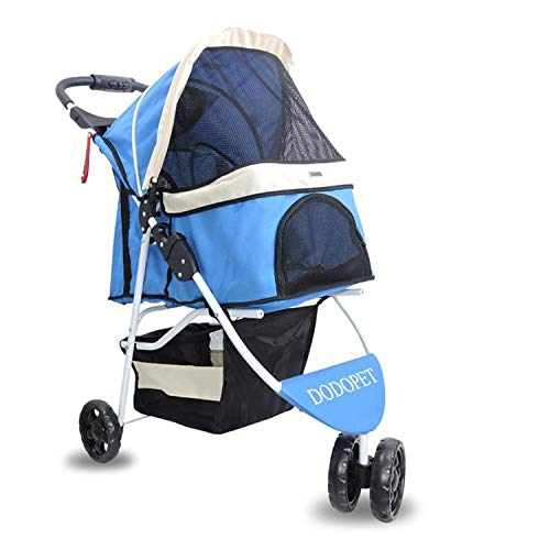 be26eec15 XHEYMX-Pet wheelchair Silla de Ruedas para Mascotas Cochecito para  Mascotas, Perro y Gato