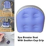 Loopunk Coussin gonflable de coussin de spa de massage de station thermale de siège d'appoint de spa pour les enfants adultes