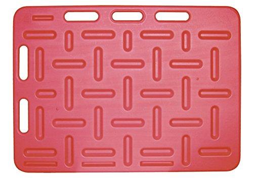 Agrarflora Schweine-Treibbrett 94x76cm, Rot, Treibhilfe für Schweine, Treibebrett zum Treiben von Ferkeln und Schweinen