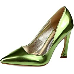 SEXYHER Damen Mode 3,5 Zoll High Heel In sieben Farben Hochzeit Schuhe - SHOMKSZT5513