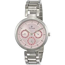 Titan Youth Analog Pink Dial Women's Watch