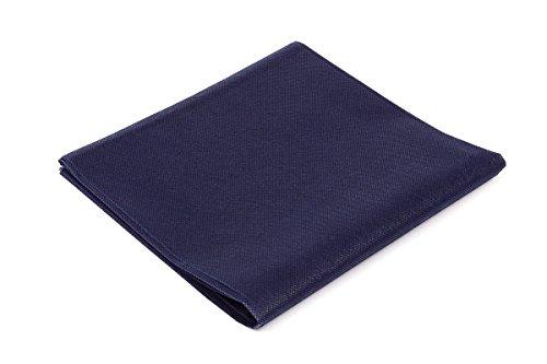 Palucart tovaglie in tnt 100x100 confezione da 25 tovaglie colore blu tessuto non tessuto ideali per la ristorazione