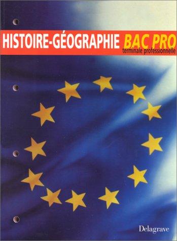 Histoire-géographie, BAC pro, terminale professionnelle