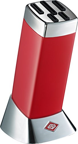 Wesco Messerblock ohne Messer Classic Line rot