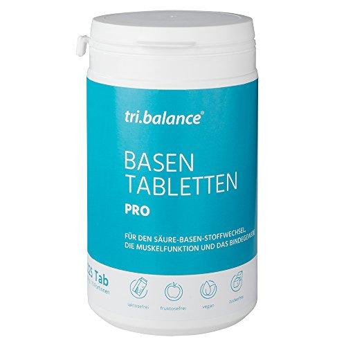 tri.balance Basentabletten Pro, 225 Tabletten, 75 Portionen (Organische Elektrolyte)