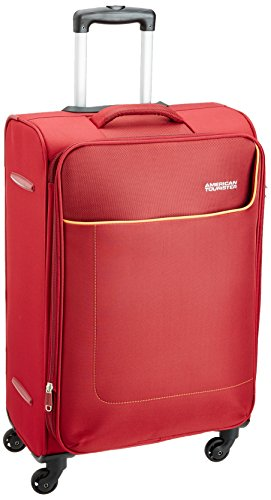 American Tourister Jamaica Polyester 69 cms Wine Red Softsided Suitcase (27O (0) 70 002)