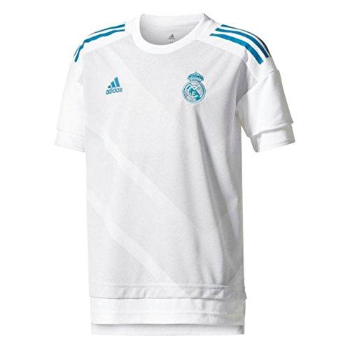 "adidas Performance Kinder Fußballtrikot ""Real Madrid Home Pre-Match"" Saison 2017/18 weiss (100) 164"