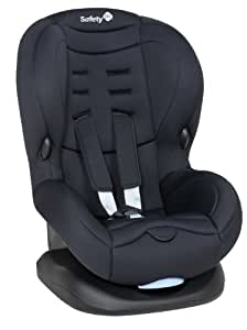 Safety 1st 75407640 - Baby Cool Plus Kinderautositz Gruppe 1 (ab ca. 9 Monate bis 3,5 Jahre), Full Black