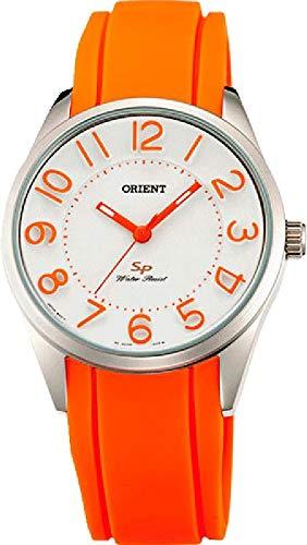Orient Womens Analogue Quartz Watch with Rubber Strap FQC0R008W0