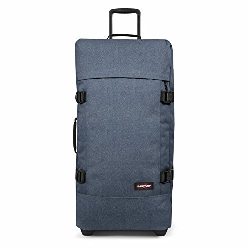 Eastpak Tranverz L Valise - 79 cm - 121 L - Double Denim (Bleu)