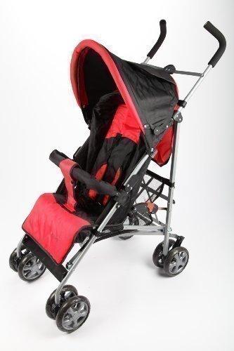 point-kids buggy / stroller / pram / pushchair F1 for baby black / red