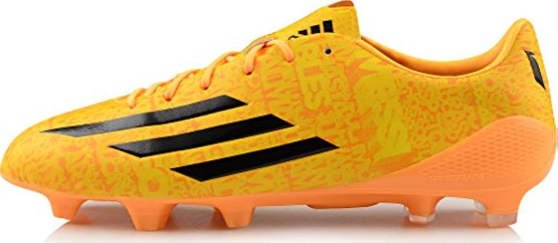 adidas - chaussures de foot - f50 adizero fg - messi bottes - fg or - 11,5 816203