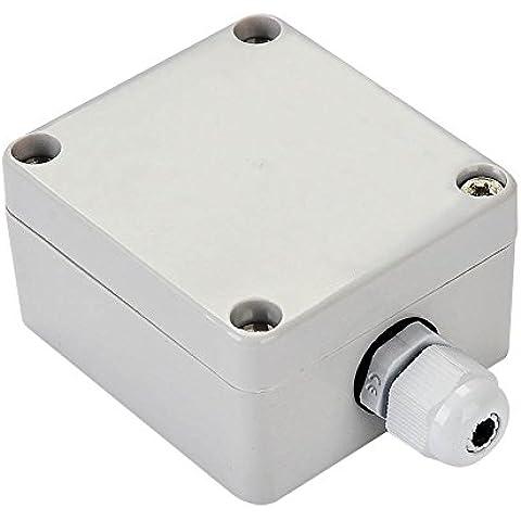 Idealeben Caja de Conexiones Resistente al Agua IP66 Intemperie al Aire Libre / Caja de Conexiones Externa Completo de Conector