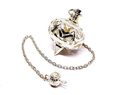 Eclectic Shop Uk Metal Cage Pendulum Accurate Divination