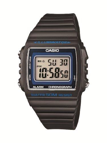 Casio Herren-Armbanduhr Classic collection Digital Quarz Resin W-215H-8AVEF (Casio Classic Schwarz)