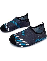 L-Run Kids Swim Water Shoes Calcetines Descalzos Aqua Socks para la Piscina  de la f336ad2ccc8