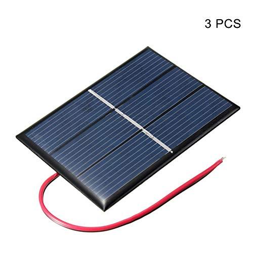 Feeilty Solar-Ladegerät, 0.65W 1.5V Solar Charging Kollektor-Batterie Power Charger Board for Hauptlicht - Solar-power-auto-batterie-ladegerät