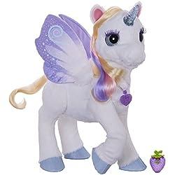 Furreal Friends - StarLily, mi Unicornio mágico (Hasbro B0450) - Versión Francesa