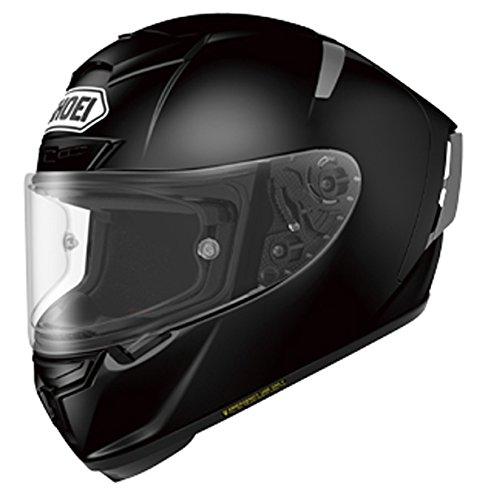 Shoei X-Spirit III Racinghelm – Uni schwarz, Farbe schwarz, Größe M