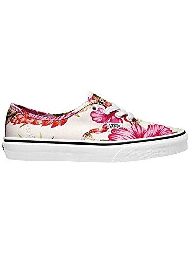 Vans U Authentic, Damen Sneakers, Weiß - Blanco (Hawaiian Floral) - Größe: 40
