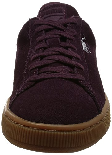 Puma, Sneakers Basses Mixte Adulte Rouge (Winetasting/Lilac Snow)