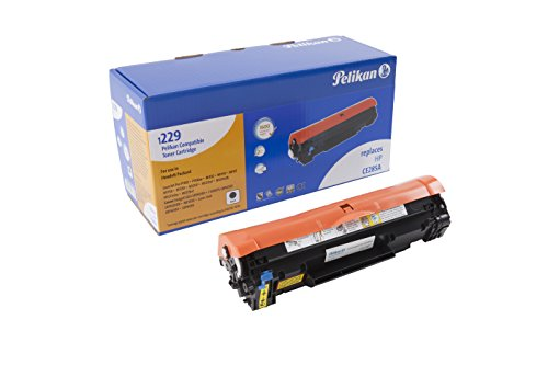 Pelikan Toner 4283870 ersetzt HP CE285A und Canon CRG725 BK (für Drucker HP Pro P1102, M1132, M1134, M1137, M1138, M1139, M1212, M1214, M1217, M1219, Canon i-SENSYS/Canon imageCLASS) schwarz
