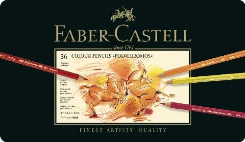 Preisvergleich Produktbild Faber-Castell 110036 - Künstlerfarbstift POLYCHROMOS, 36er Metalletui